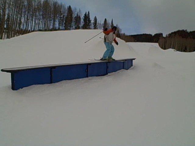 Long down rail