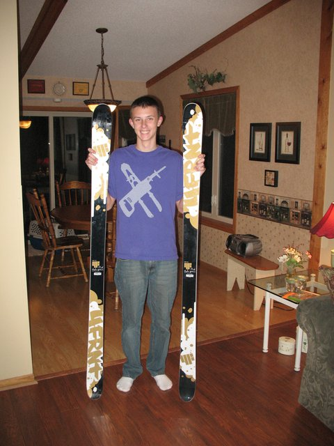 Skis for my b-day