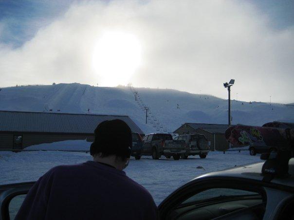 Snowpark carpark