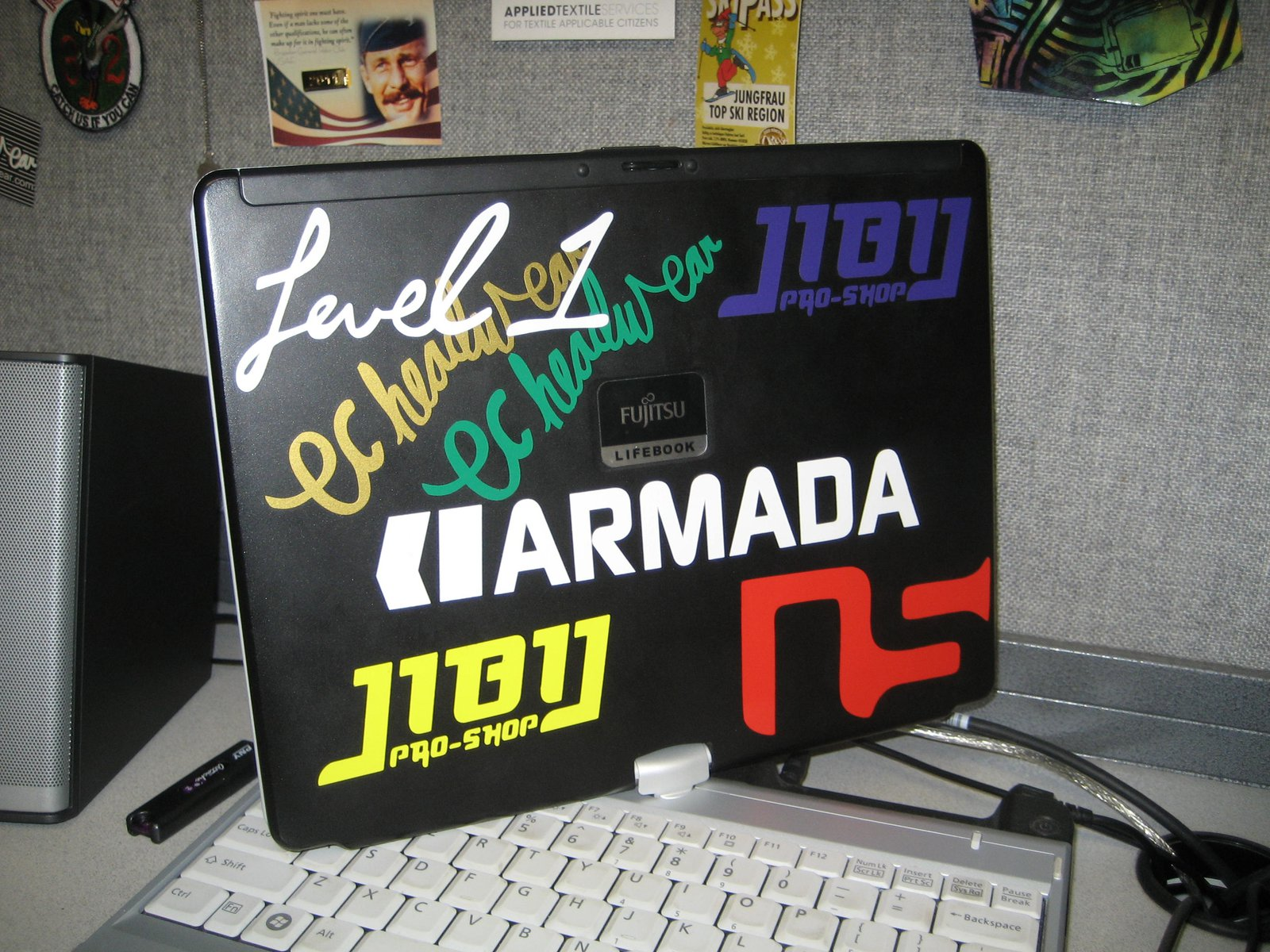 Laptop Sticker Job