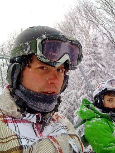 Gore mountain blizzard 2008