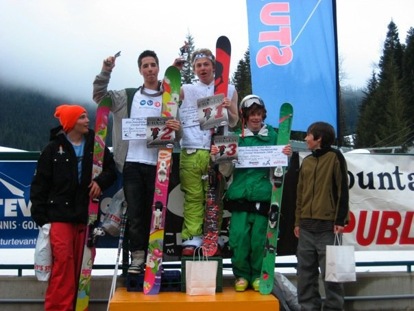N. american jr. extreme freeskiing championship