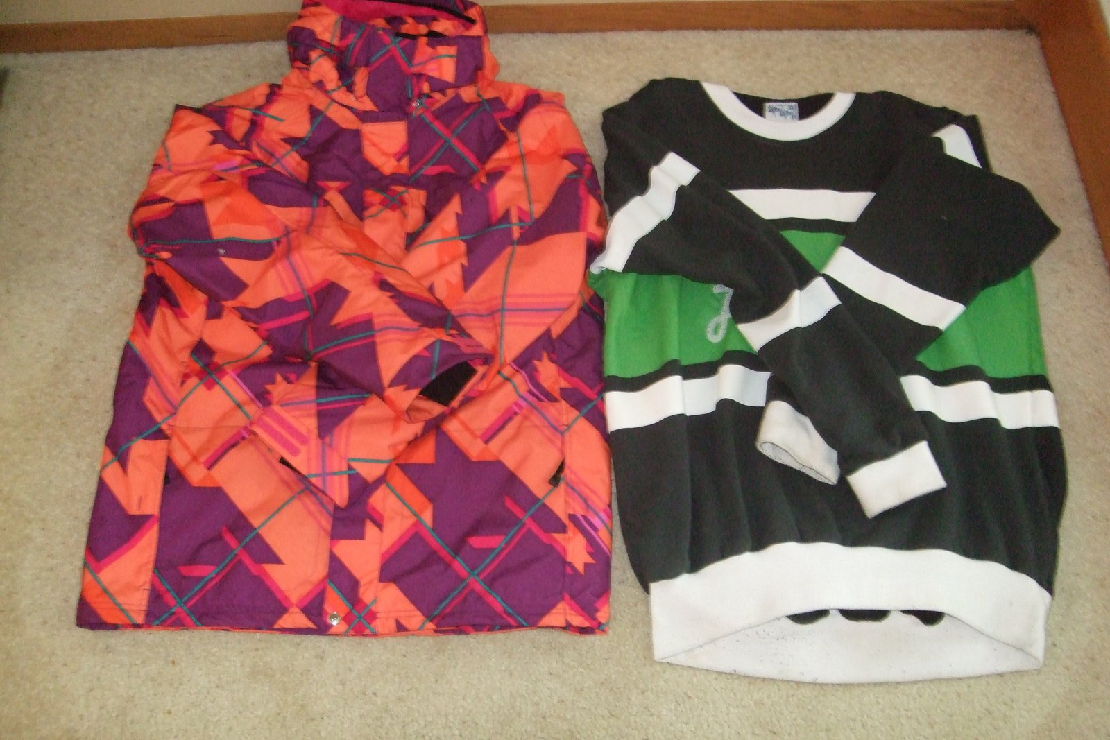 Bradford jacket xl / jiberish-level 1 crewneck xxl