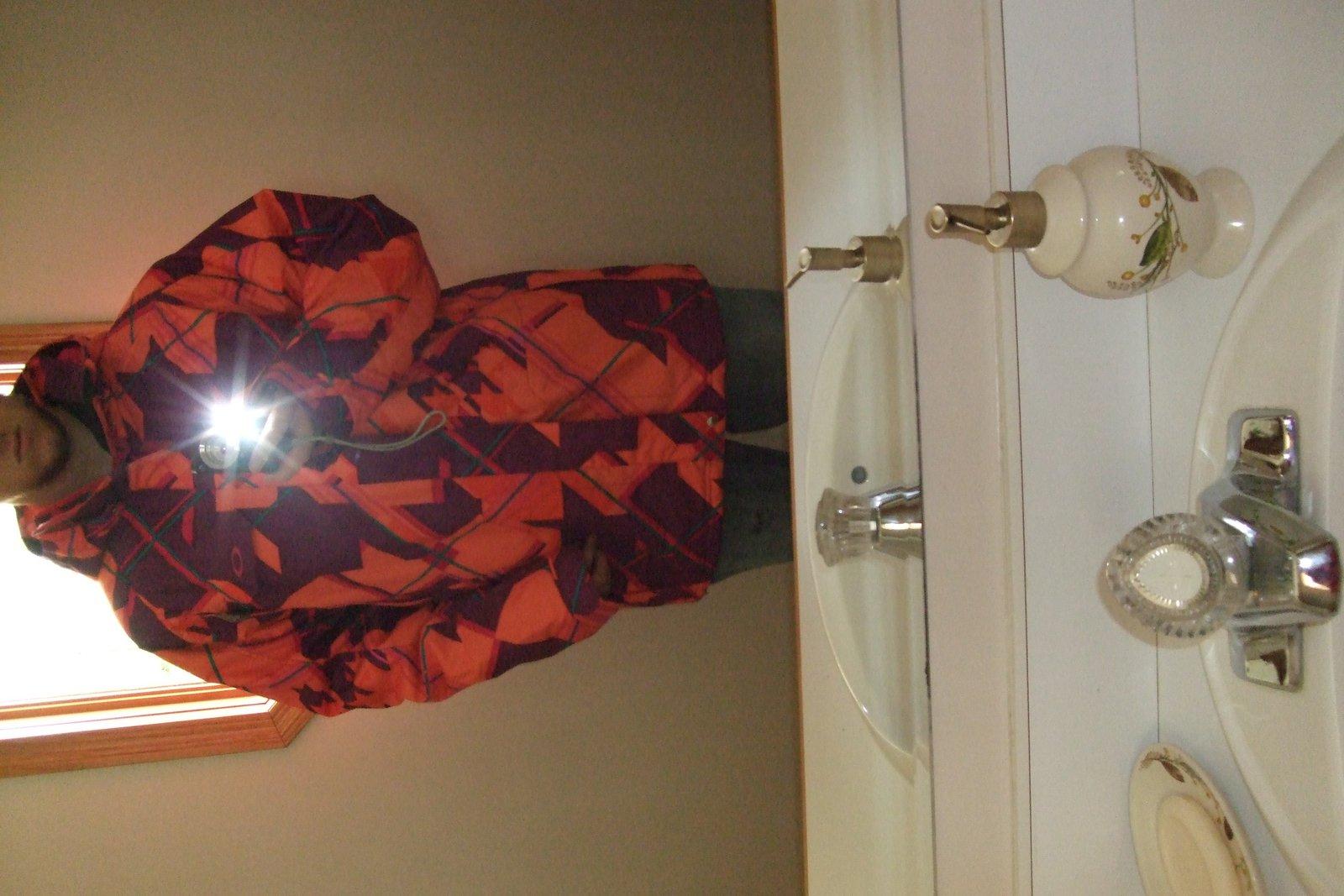 Wearing bradford jacket xl