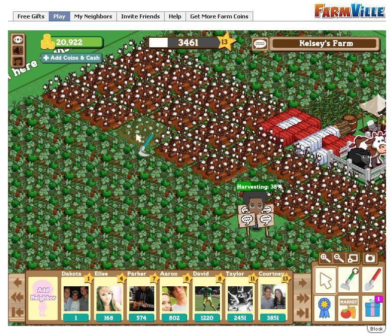 Farmville or racisim