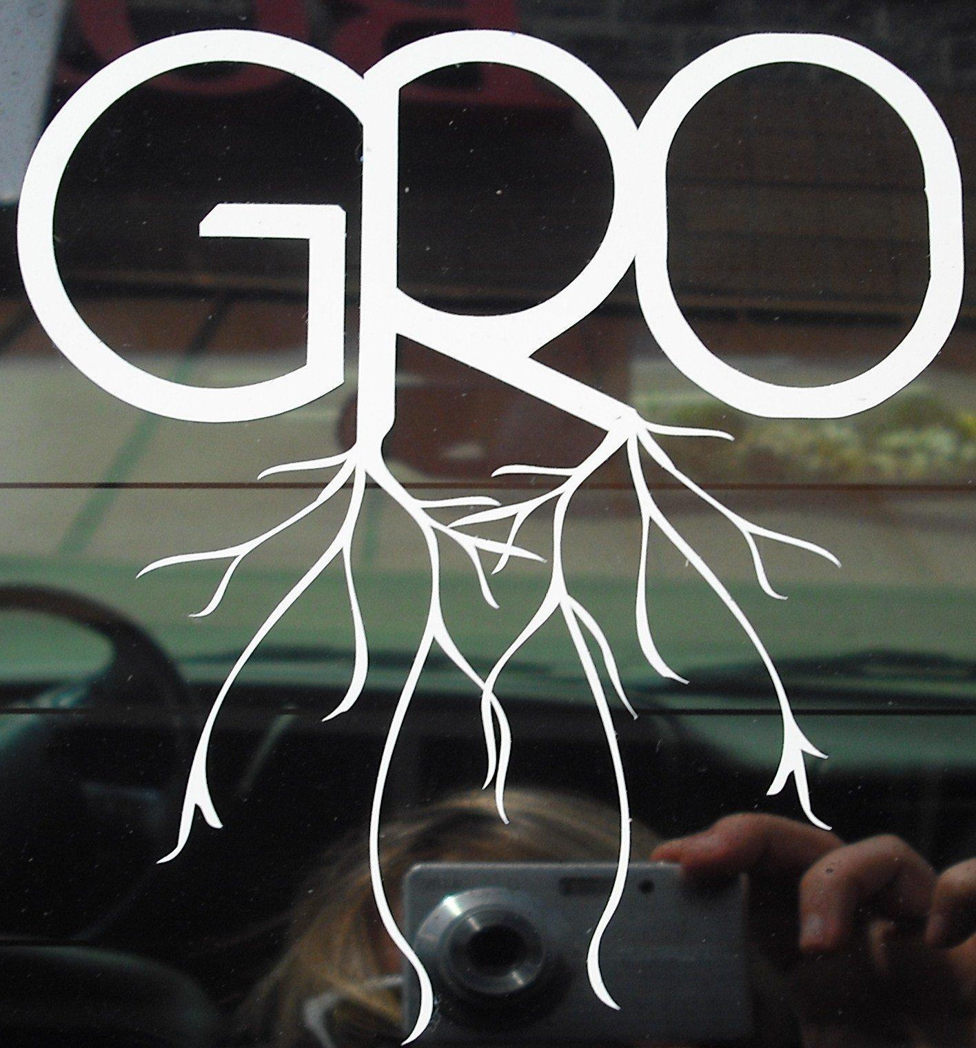 GRO sticker