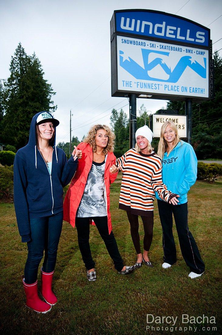 Skier Girls