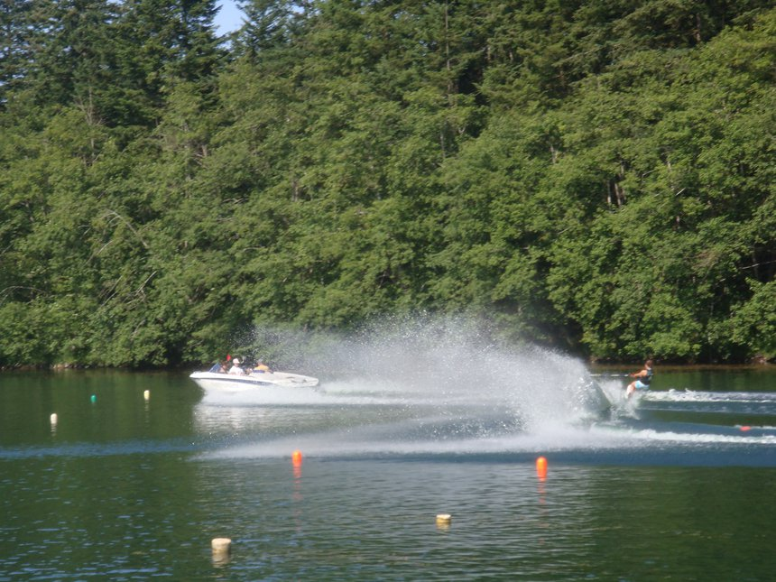 Some good old slaloming