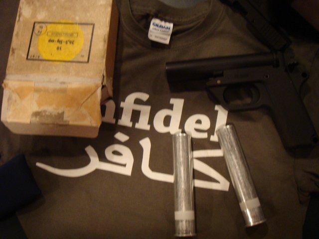 Flare gun (for thread)