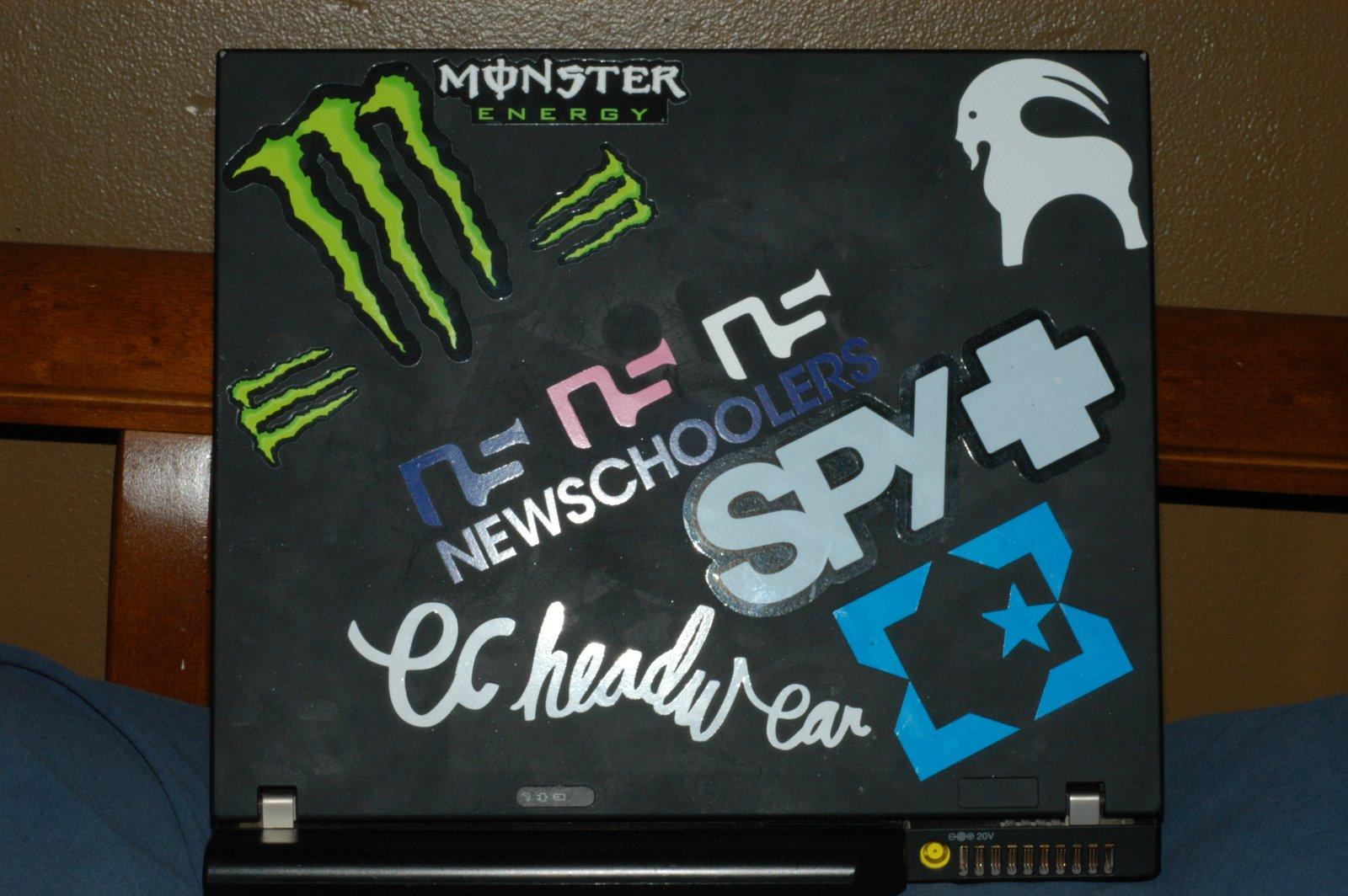 New Laptop stickers