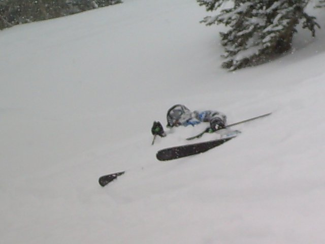 Took a nap and 3 feet of powder