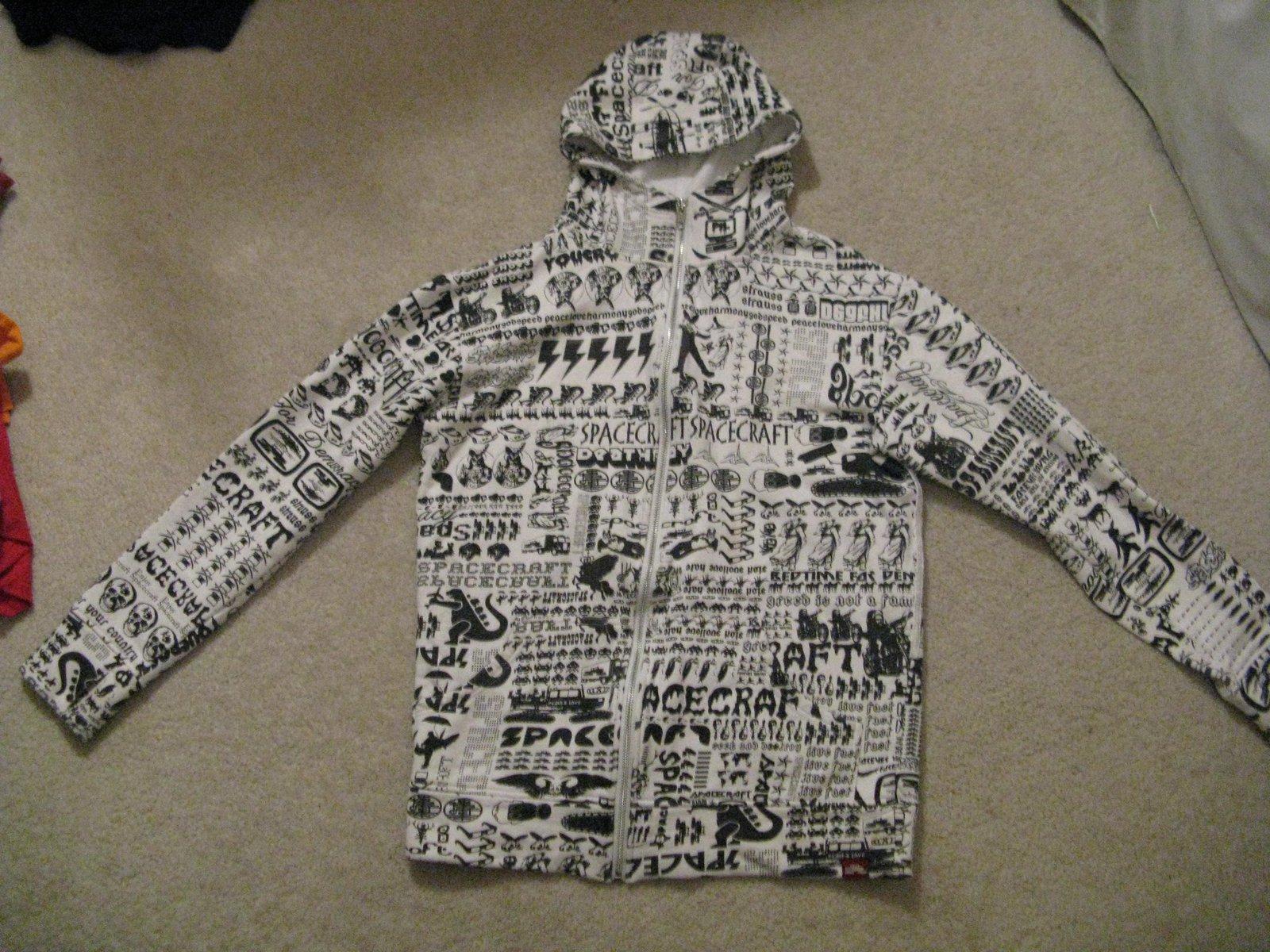 Aircraft hoodie
