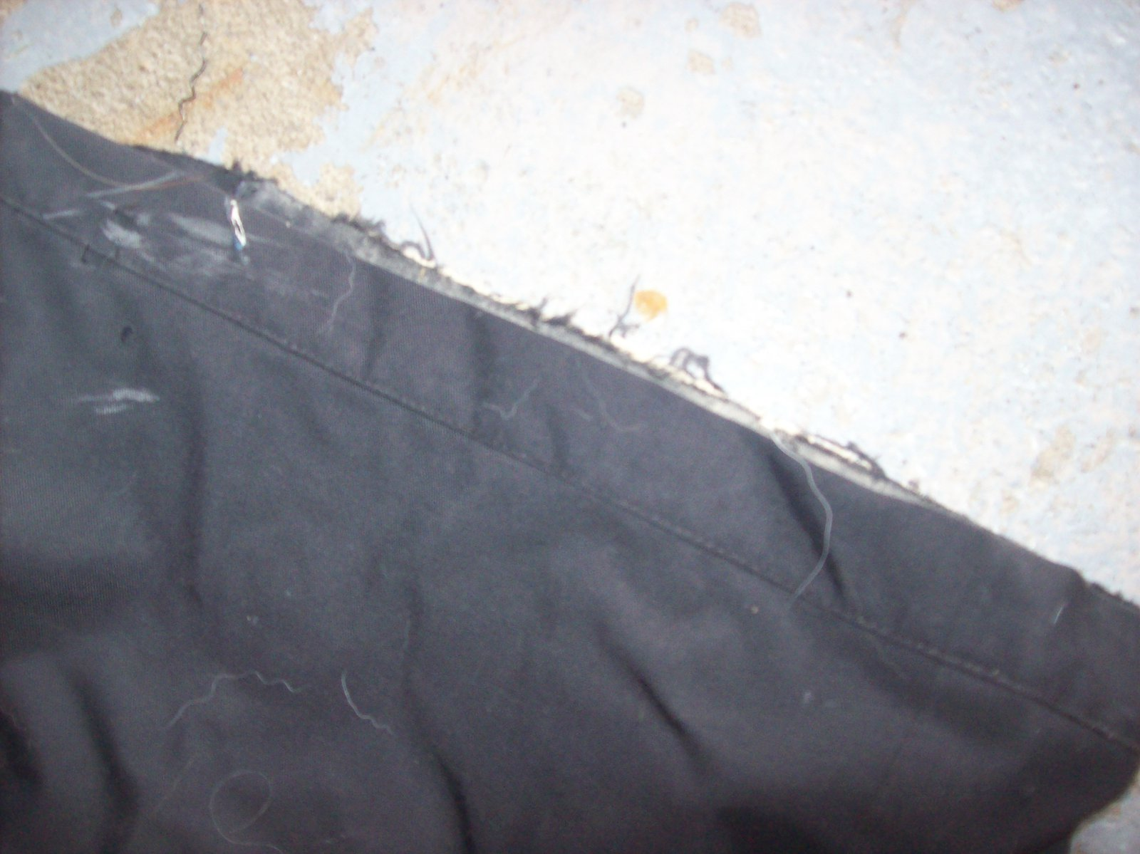 Pants heel