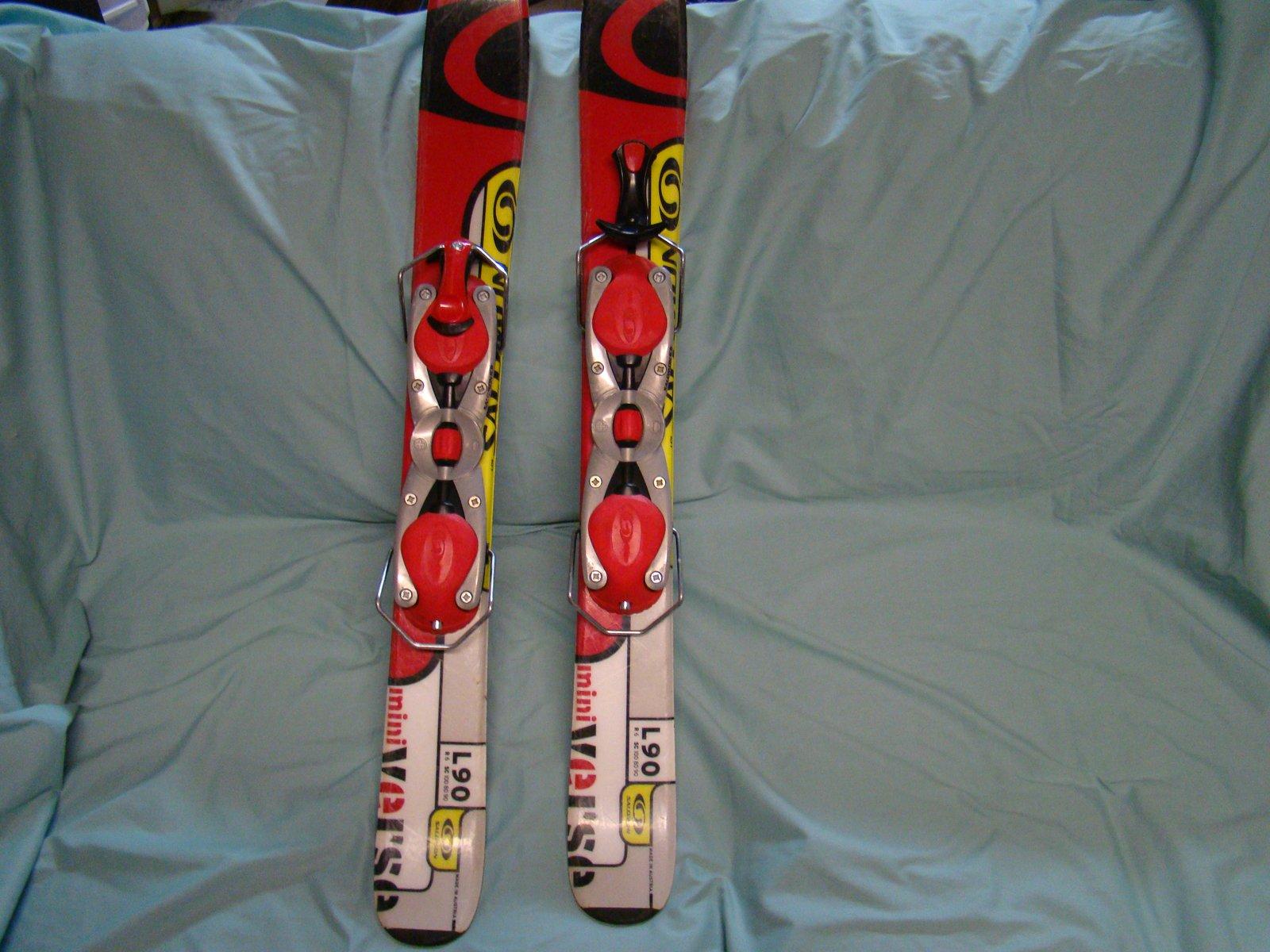 Salomon mini trick ski