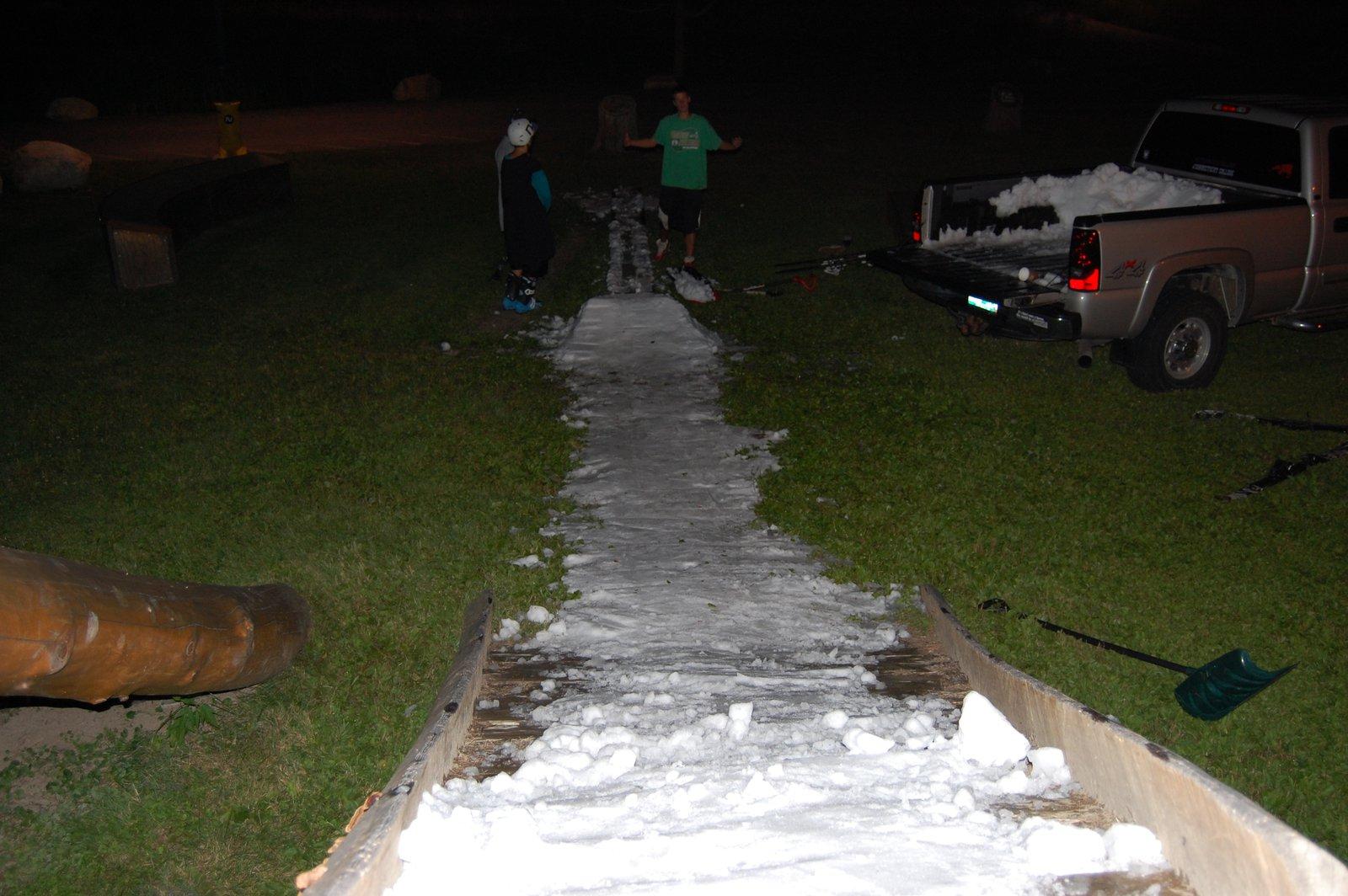 Rink Snow