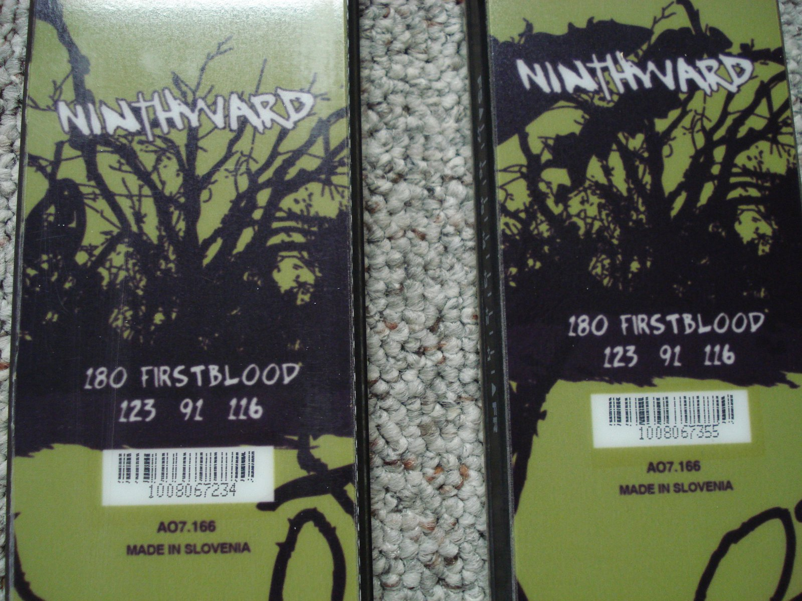 Nineward first bloods