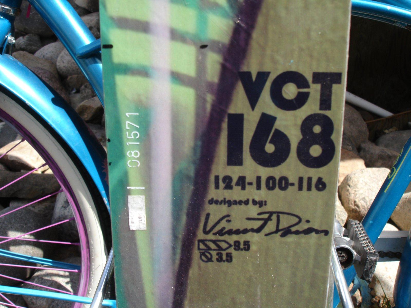 VCT specs