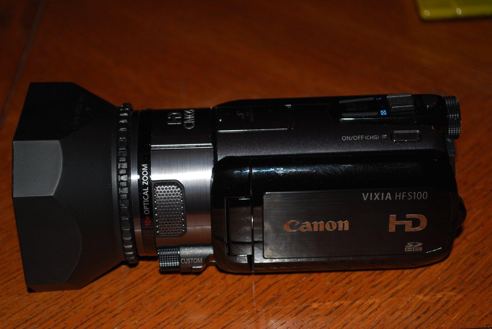 New camcorder woohoo