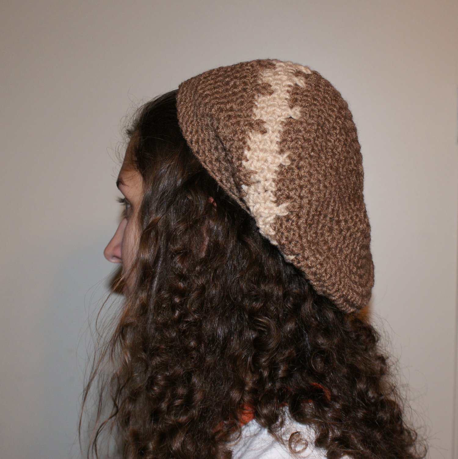 Brown slouchy hat $13.50