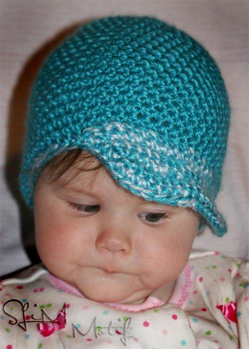 Blue Baby Beanie - $13.50