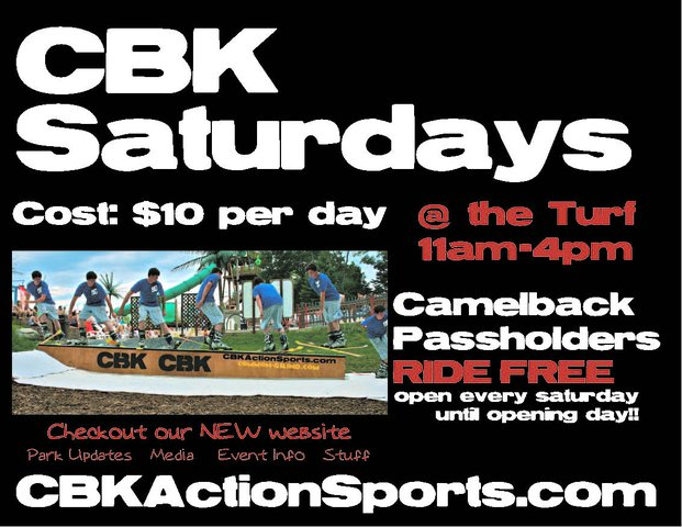 Cbk saturdays