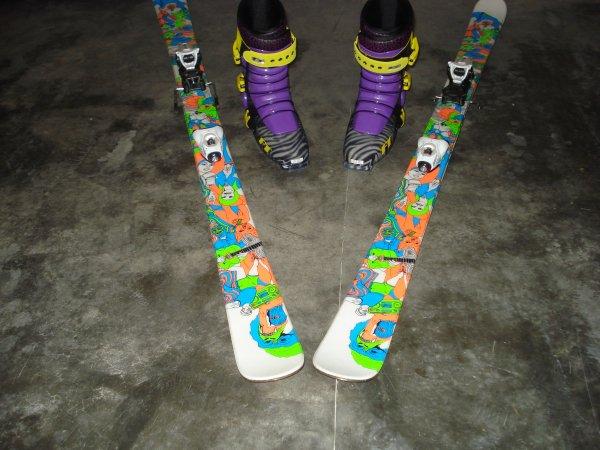 Ski setup