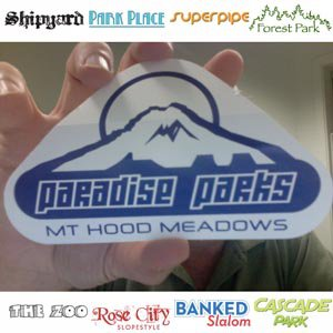 Paradise Parks Sticker - 2 of 2