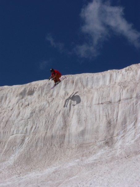Skiing Bearthooths Sept 13 09