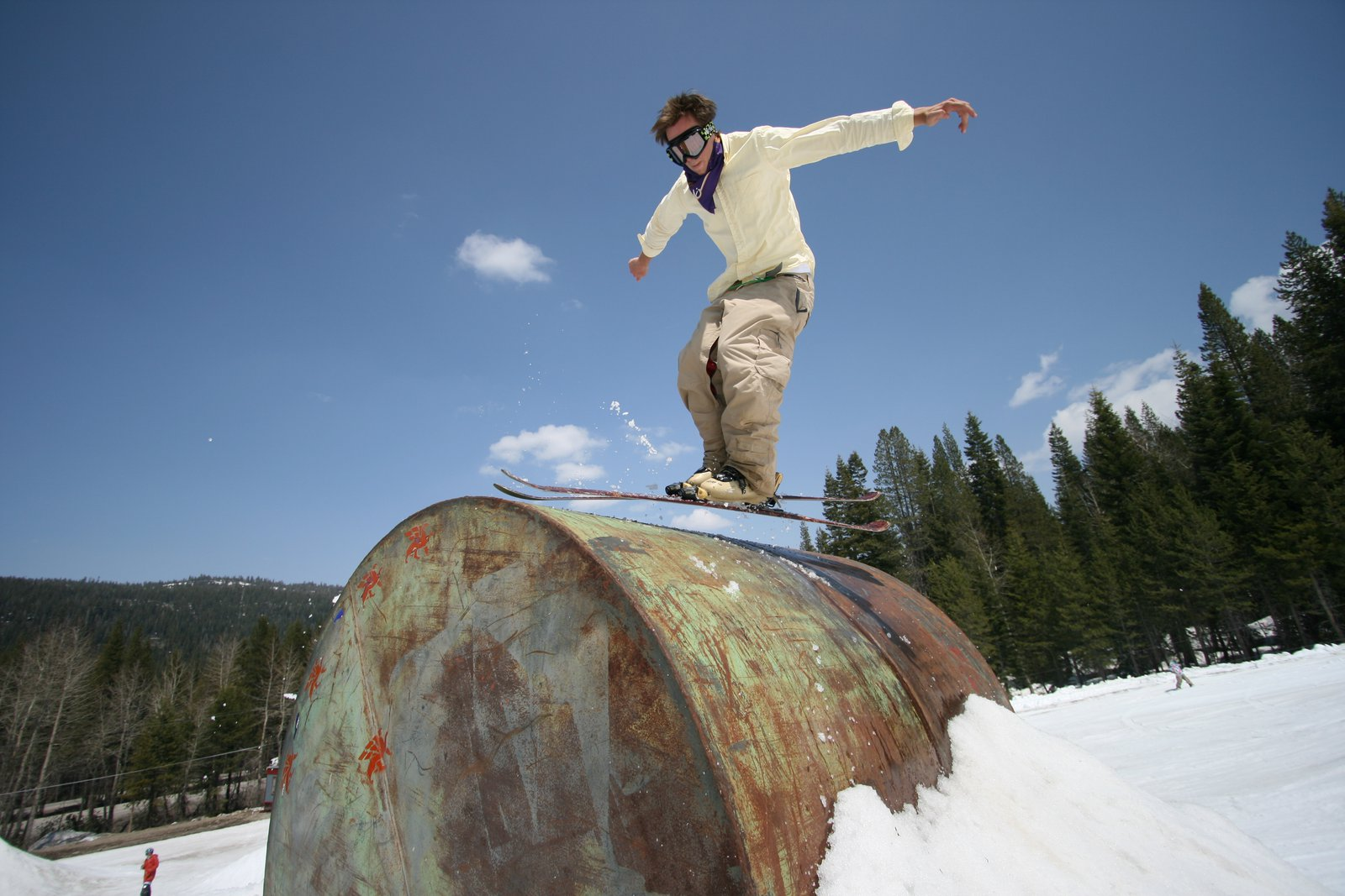 Switchup on the jib barrel