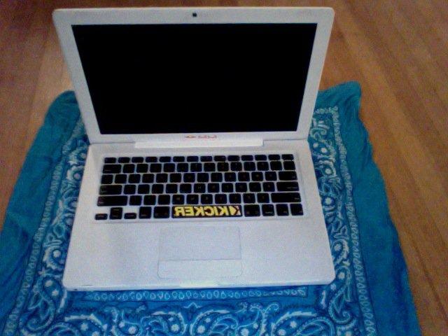 Macbook from top