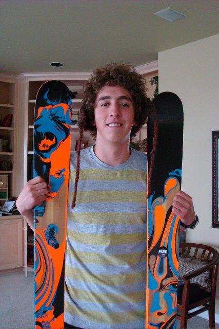 Got ma skis