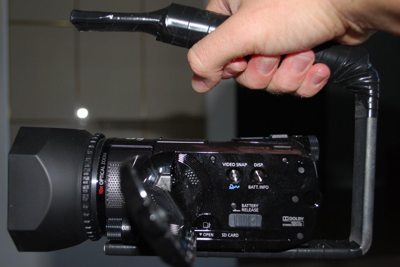 Custom followcam handle