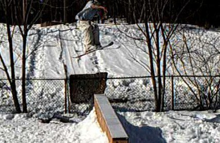 Steeze over gap to box