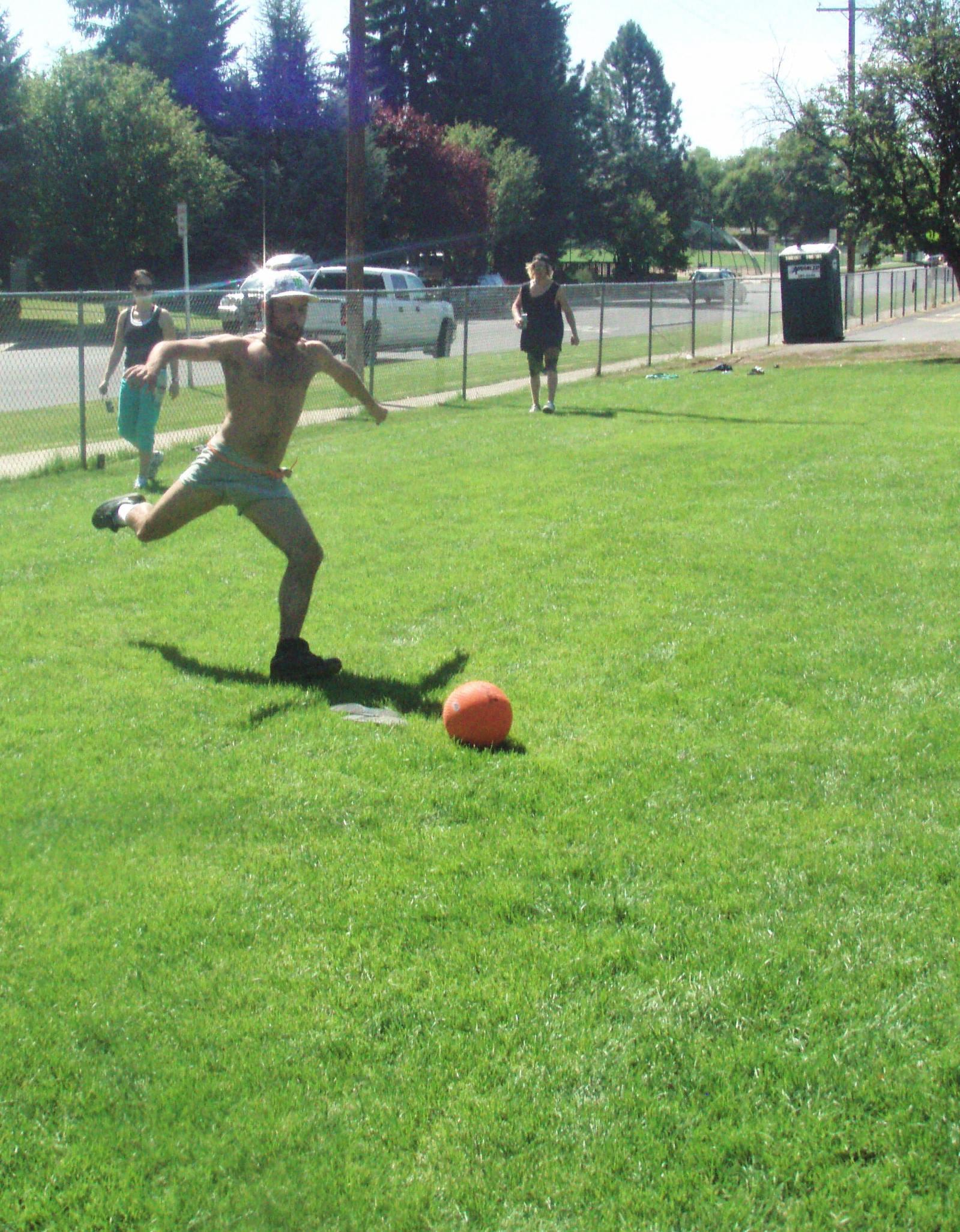 Chug Kickball