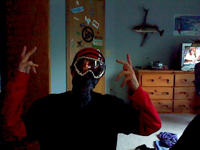 Me in my gear ha