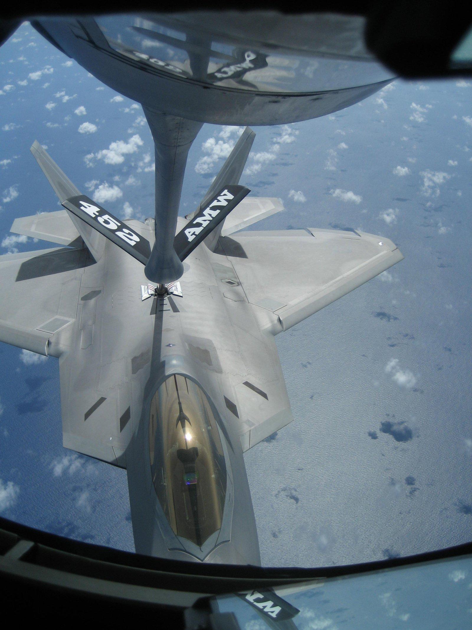 """""""Working"""" over Guam"""
