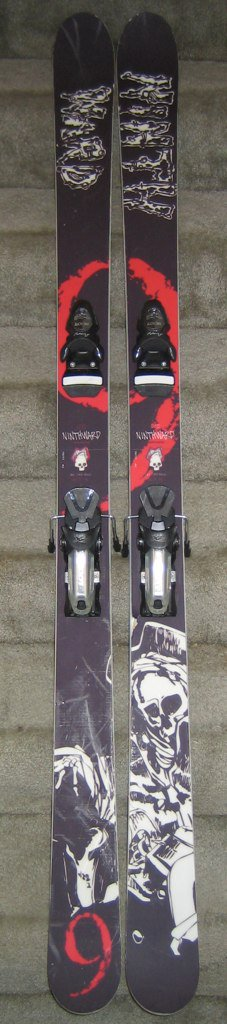 Ninthward First Blood 180 w/ Rossi Axial2 Freeride 150s