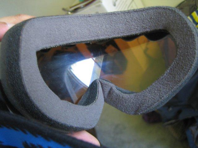 Oakley Wisdom goggles with blue iridium