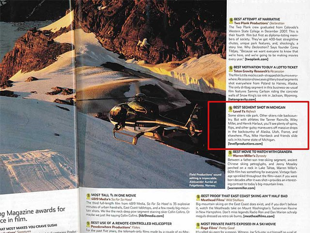SkiingMag Oct 2009