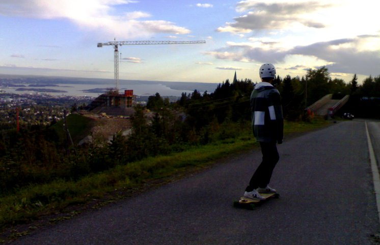 Longboarding is fun