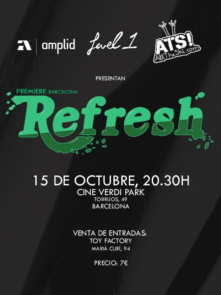 Refresh premiere barcelona (sapain)