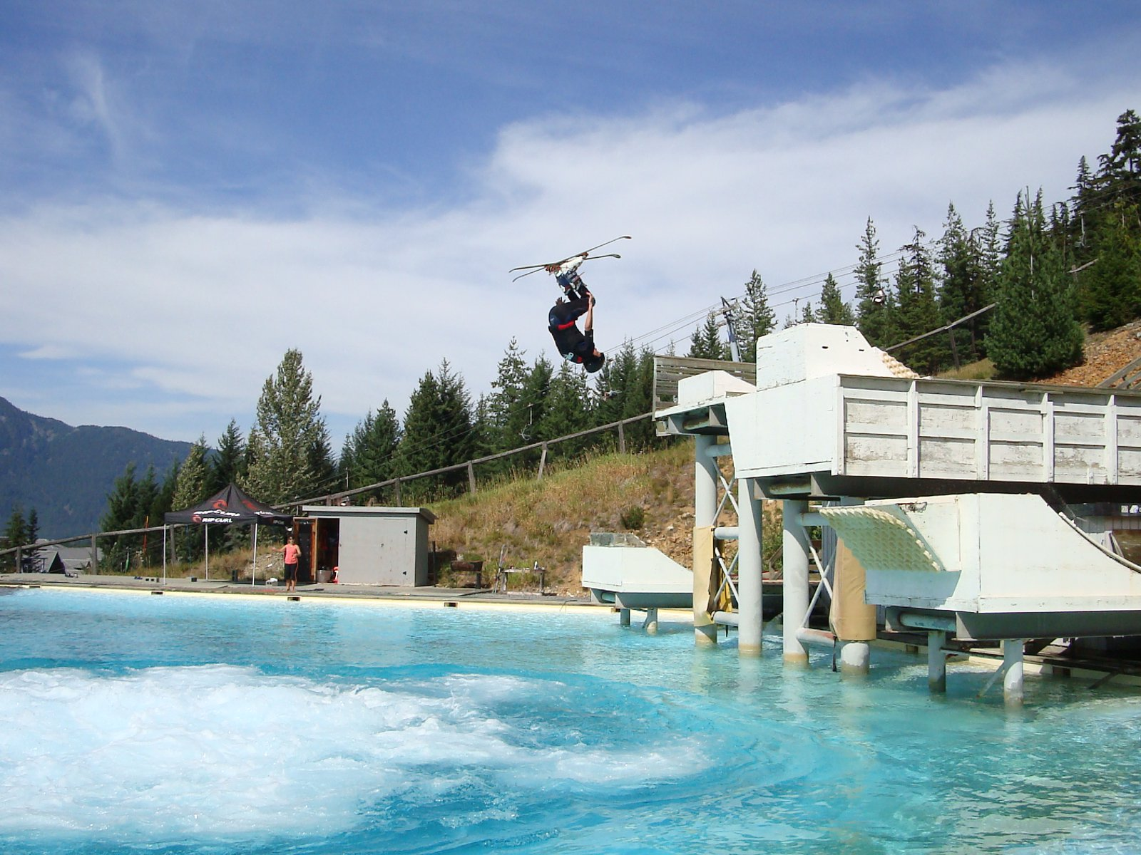 Whistler Freestyle Training Ramp -Summer Camp