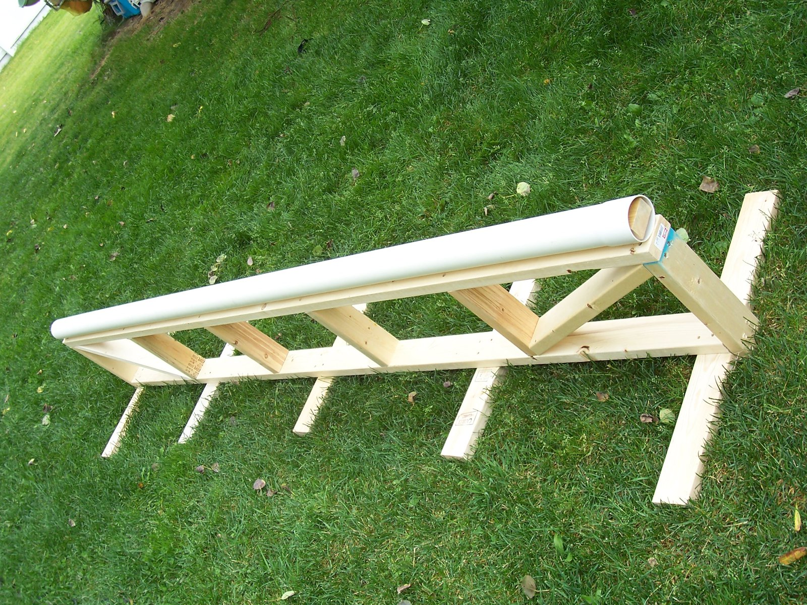 10 ft PVC rail