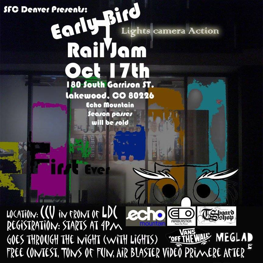 Early Bird Rail Jam