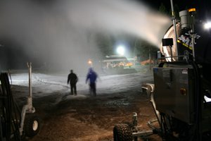 Boreal Snowmaking Sept. 2009