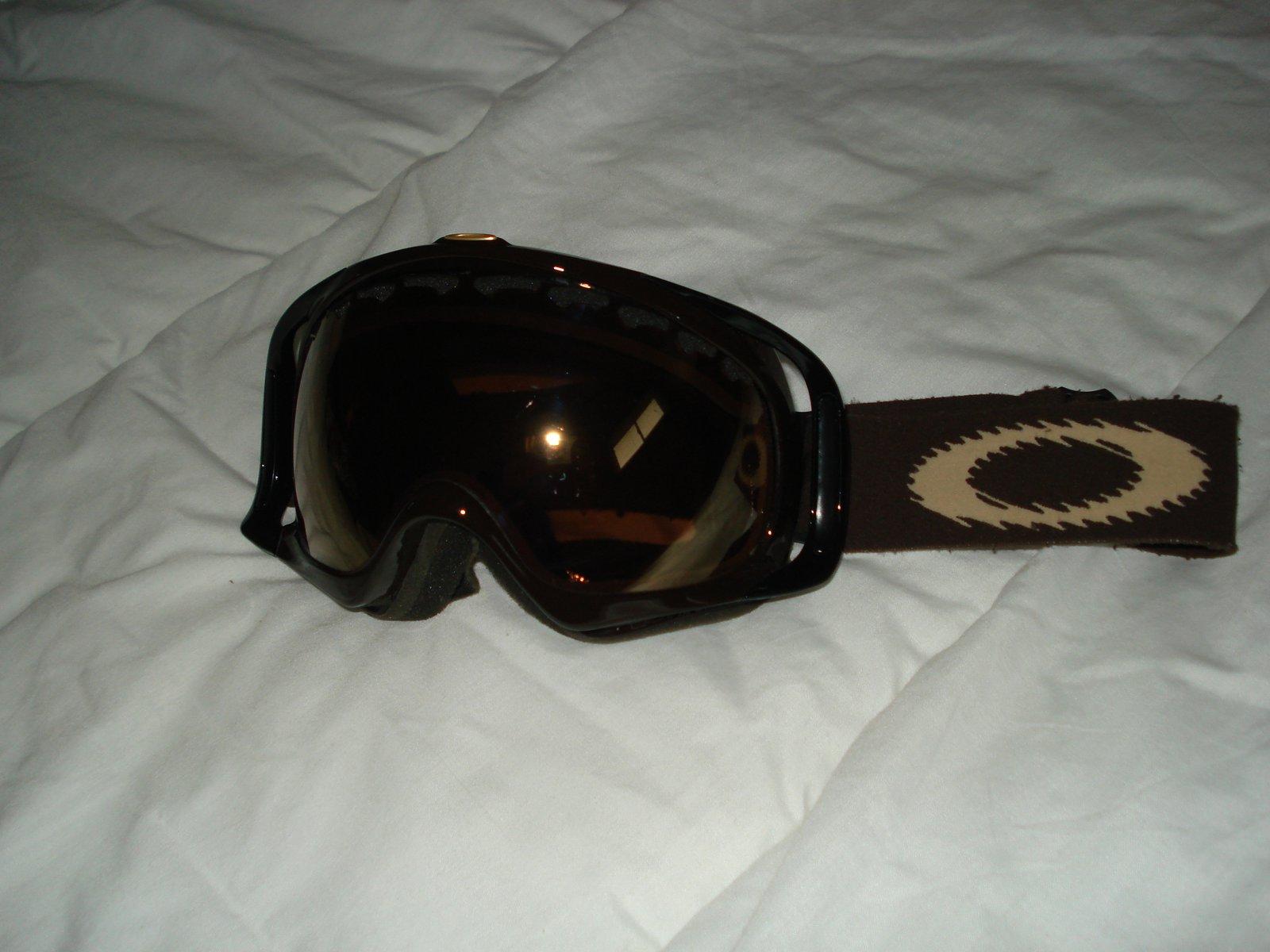 Brown crowbars w/gold irid 1