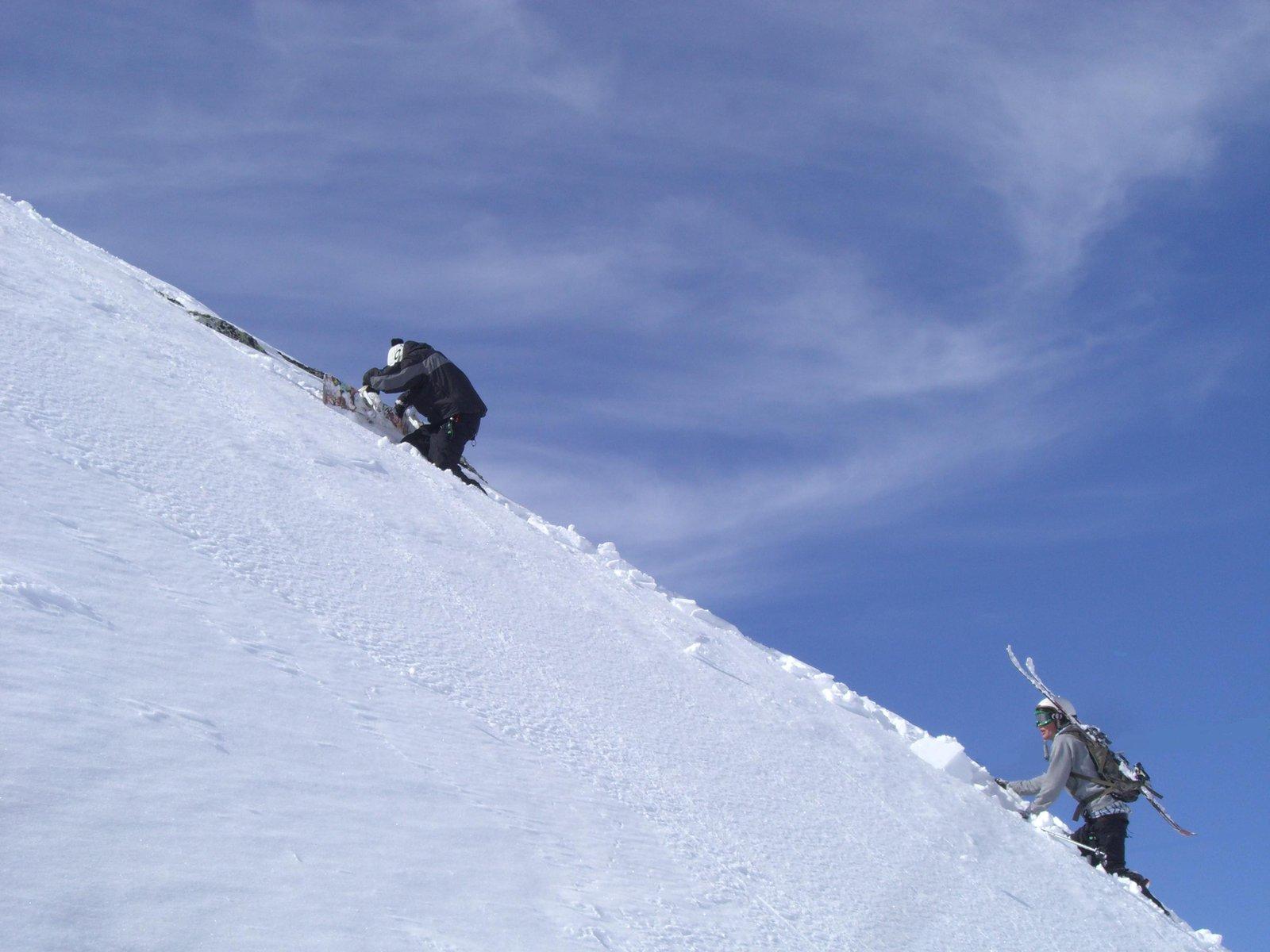 Climbing..