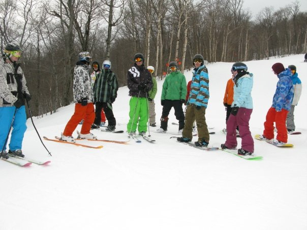 Crew at Stowe