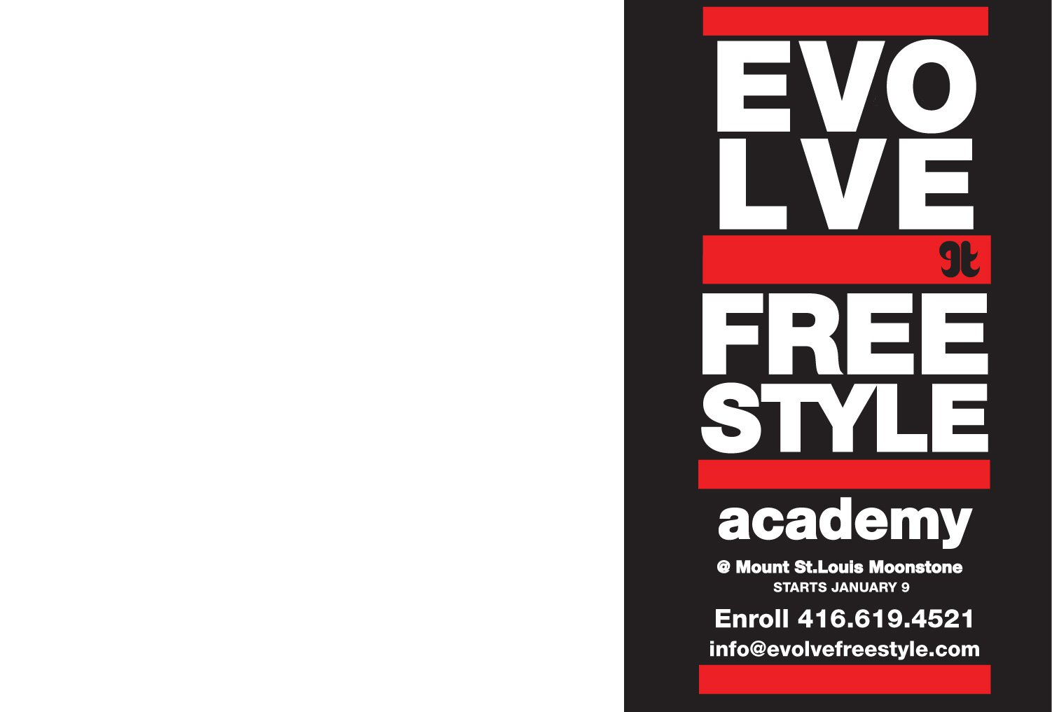 Evolve FReestyle Academy @ Mount St. Louis Moonstone