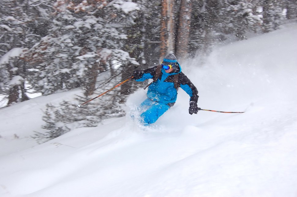 OCTOBER 9TH 2009 AT BRIDGER BOWL! POW DAY